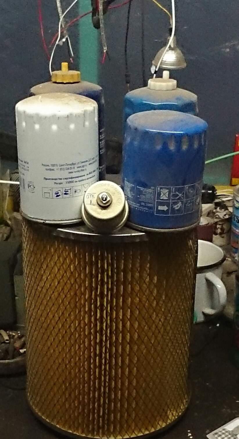 Продам Фильтра:воздушный, два масляных,два топливных,датчик давления масла. Газ 3309 (Валдай) Харьков 508670612