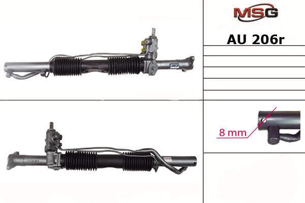 Продам Рейка с Г/У AU 206R, Для авто: AUDI A6 (4A, C4) 1994-1997 A6 Avant (4A, C4) 1994-1997 Рівне