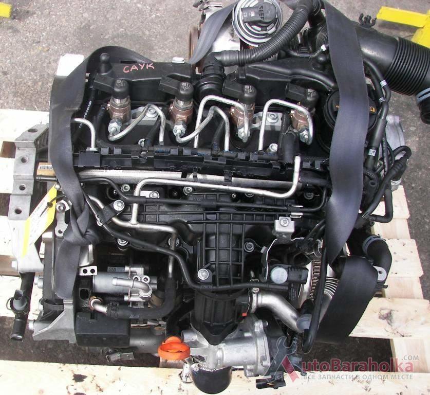 Продам Двигатель Volkswagen Golf VI Audi A3 Seat Skoda (Вольксваген Гольф Ауди Сеат Шкода) 1.6 TDI. Б/у Ковель