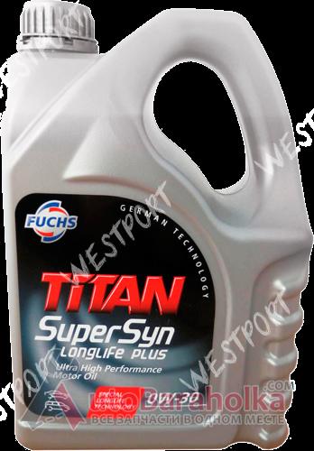 Продам Масло моторное FUCHS TITAN SuperSyn LONGLIFE 0W-30 4л. Бензиновый, Дизельный Днепропетровск