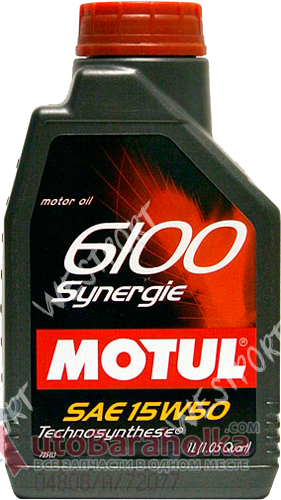 Продам Масло моторное Motul 6100 SYNERGIE 15W-50 1л. Бензиновый, Дизельный Днепропетровск