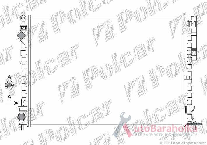 Продам Радиатор охлаждения на RENAULT ESPACE POLCAR 603208A6 Краматорск