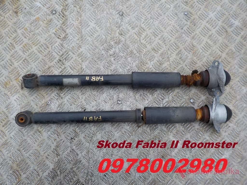 Продам Амортизатори задні стойка подвеска Skoda Fabia II Roomster 07-14 Фабіа 2 Ровно