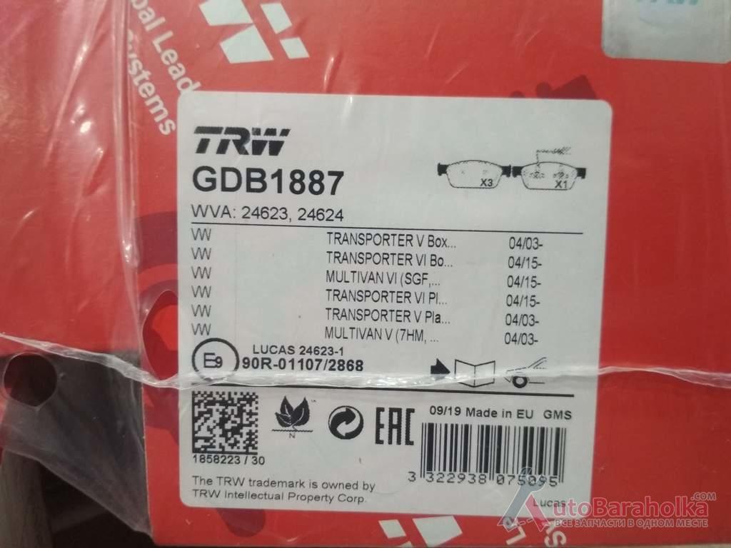 Продам Тормозные колодки Передние TRANSPORTER 5.6 Новые Хмельницкий